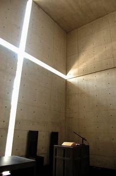 Church of the Light, 2000 Tadao Ando www.andotadao.org via archipreneur.blogspot.com for : installation