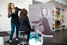 "In July, salon hair brand Kérastase will be bringing to Canada its new Couture line of styling and finishing products (Kate Moss is the ""face"" of the line) designed under the guidance of hair stylist Luigi Murenu."