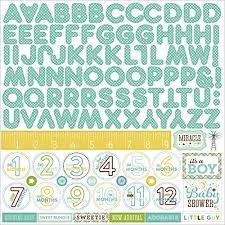Alpha Sticker Bundle of Joy 2 Boy