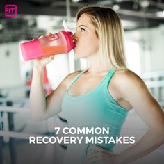 Recovery plays a huge role in maximizing the effects of your workout. Find out what you are doing wrong and how to fix your recovery mistakes.