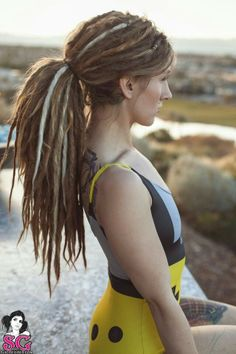 Someday I WILL have dreads! Well, probably not but a girl can dream!