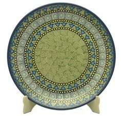 """10"""" Dinner Plate (Blue Bells) from The Polish Pottery Outlet"""