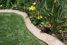 Looking for an inexpensive, lasting way to set apart your planting beds? Use these steps to make concrete garden edging in any length you wish.
