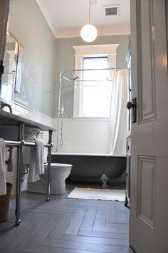 Love this floor. #bathroom