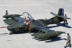 Chilean A-37 Dragonfly