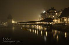 Lucerne Bridge by firewallphotography