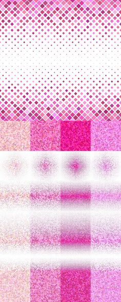 Square Patterns, Color Patterns, Geometric Patterns, Geometric Background, Vector Background, Vector Pattern, Pattern Design, Abstract Backgrounds, Pink Backgrounds