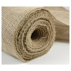 """Natural Jute Roll Burlap Fabric 10 yards (30 foot) x 14"""" wide $11 found on Polyvore featuring polyvore, home, home improvement and fabric"""