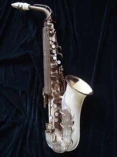 Grafton plastic saxophone- I've seen pictures of Charlie Parker playing one of these and have wanted to try one ever since.