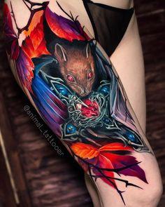 Search inspiration for a Realistic tattoo. Leg Tattoos, Body Art Tattoos, Sleeve Tattoos, Cool Tattoos, World Famous Tattoo Ink, Colour Tattoo, Realism Tattoo, Tattoo Studio, Tattoo Artists