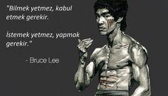 Bruce Lee'den öğrenilecek çok şey var!