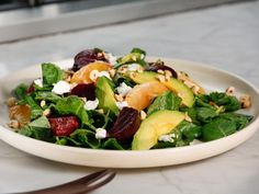 Get Tia Mowry's Roasted Beet Salad Recipe from Cooking Channel