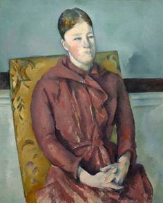 Madame Cezanne In A Yellow Chair Artwork By Paul Cezanne Oil Painting & Art Prints On Canvas For Sale Aix En Provence, Paul Cezanne, Cezanne Art, National Gallery Of Art, National Portrait Gallery, Art Gallery, Renoir, Tag Art, Monet