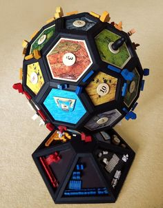 Settlers of Catan Goes 3D With This DIY Globe   Anyone? Anyone want to do this and level-up our nerdiness together?