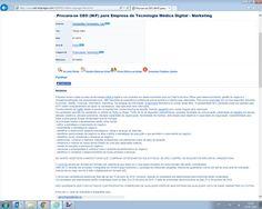 Anúncio publicado no Net-Empregos. Fonte: http://www.net-empregos.com/3193032/oferta-emprego/#anuncio