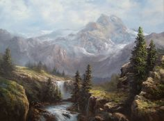 landscape oil painting with Kevin Hill. Learn techniques that can improve oil, acrylic and even watercolor paintings.