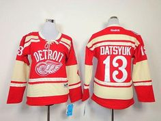 Red Wings #13 Pavel Datsyuk Red 2014 Winter Classic Women's Stitched NHL Jersey 50% Off Jerseys And Apparel
