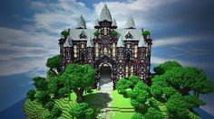 Cliff Mansion Minecraft World Save