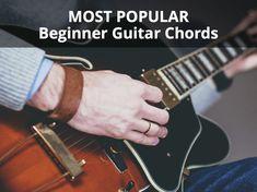 beginner guitar chords Guitar Songs For Beginners, Guitar Chords Beginner, Easy Guitar Songs, Acoustic Guitar Chords, Beautiful Guitars, All Songs, Jimi Hendrix, Playing Guitar, Music