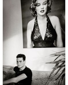 Marc de Groot | DB and MM. @douwebob relaxing with Norma Jeane...