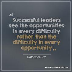 Success in leadership