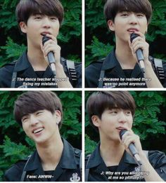 You brought this in yourself Seokjin