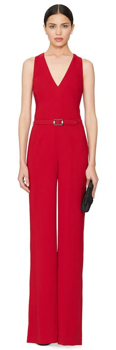Ralph Lauren ● Black Label Belted Charisse Jumpsuit