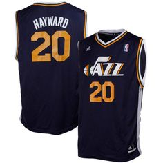 NBA Utah Jazz Hayward  0 Boys 820 Replica Road Jersey Large 1416 Navy * To view further for this item, visit the image link.