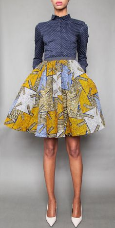NEW The Maggie Skirt by DemestiksNewYork on Etsy