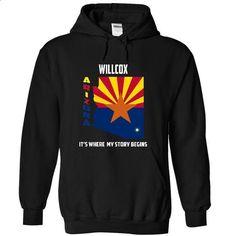 Willcox, Arizona - Its Where My Story Begins - #hoodie novios #christmas sweater. CHECK PRICE => https://www.sunfrog.com/States/Willcox-Arizona--Its-Where-My-Story-Begins-1994-Black-12230110-Hoodie.html?68278