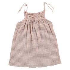 Claudia Check Dress (Pink) By Buho | Juniper Baby + Kids
