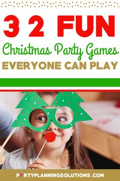 A Christmas party is a perfect way to bring people together during the holidays. Luckily, it's incredibly easy to ensure that your guests have a great time by planning out some silly and creative games and activities. Games for a Christmas party are a lighthearted and inexpensive way to add to the merriment and put your holiday party guests in an extra festive mood! #christmasparty #christmaspartyideas #christmaspartygames #partygames #partyideas