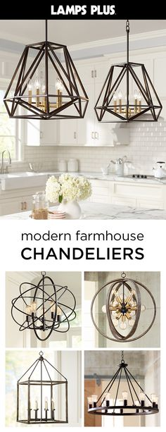84 best farmhouse chandelier images in 2019 Farmhouse Chandelier, Farmhouse Lighting, Farmhouse Decor, Modern Farmhouse, Kitchen Redo, Kitchen Remodel, H & M Home, Updated Kitchen, My Living Room