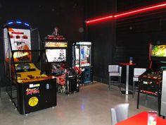 Les jeux d'arcades