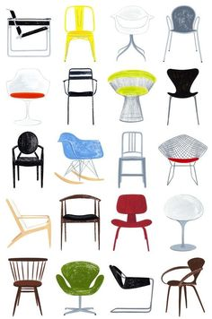 Designer Chair Poster Download   Google 搜尋 | Designer Chair Poster |  Pinterest | Mid Century, Mid Century Modern And Modern Chairs