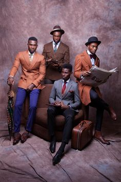 """NIGERIAN MENSWEAR DESIGNER McMEKA PRESENTS NEW COLLECTION """"WORK HARD,PLAY HARD"""" 