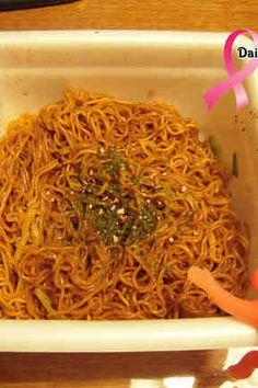 カップ焼きそばを生麺風に美味しく食べるの画像