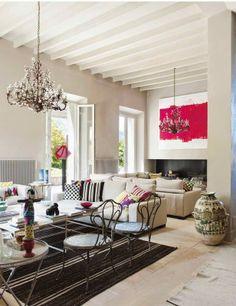 Virlova Style: [Home] Vivienda con raíces de campo y confort actual