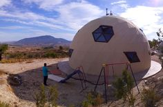 vivienda geodesica domo Yecla