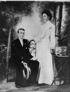 Cecilia Bauer and her brother Walter Bauer Cecilia Bauer lost her life nursing plague victims in Her Brother, Losing Her, Family History, Nursing, Families, The Past, Lost, Australia, People