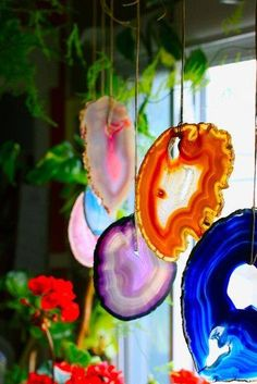 Agate slice mobile