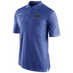 7f2839d34 Duke Blue Devils Nike Sideline Staff Performance Polo – Duke Blue Golf  Shirts