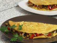 Omletă provensală Mozzarella, Sandwiches, Tacos, Mexican, Ethnic Recipes, Paninis, Mexicans