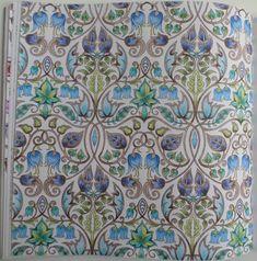 Feuillages Bleu Vert De La Foret Enchantee