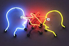 Bruce Nauman, Double Poke in the Eye II, 1985