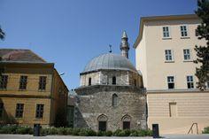 Pécs, minaret, Hungary