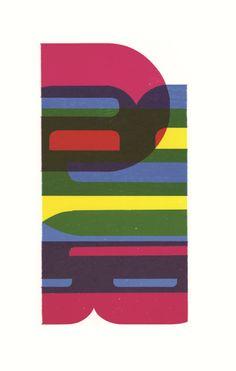 David Wolske: Abstract Letterpress