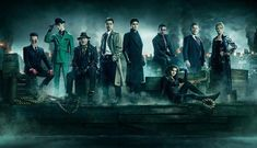 "Gotham Season 5 - Fox renewed the show for a fifth and final season shortly before its season four finale – that featured a major death – and promised that it will ""wrap up this unique origin story of the great DC Comics Super-Villains and vigilantes"" Gotham Series, Gotham Tv, Tv Series, Gotham Bruce, Jerome Gotham, Gotham Cast, Serie Tv, Batgirl, Catwoman"