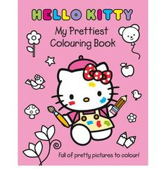 Have fun colouring in lots of pretty pictures of Hello Kitty and her friends!