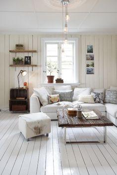 Una bonita casa llena de piezas vintage-Industrial… |
